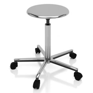 Sgabello ambulatoriale professional elevazione a vite - Art. 108317