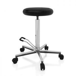 Sgabello ambulatoriale con sedile rotondo - Art. 108328