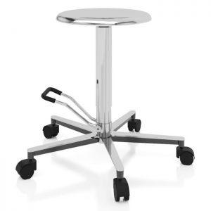 Sgabello ambulatoriale con sedile rotondo - Art. 108329