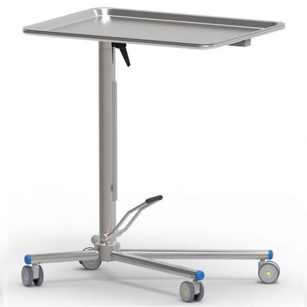 Tavolo di Mayo con pompa a movimento singolo e piano girevole