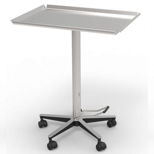 Tavolo servitore, destinato all'utilizzo in Ambulatorio Chirurgico